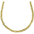 Yellow Gold Rope Necklace