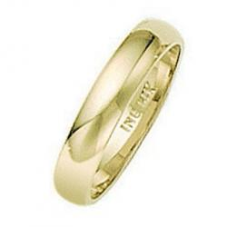 Yellow Gold Wedding Band Ring