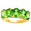 Peridot Ring in Gold