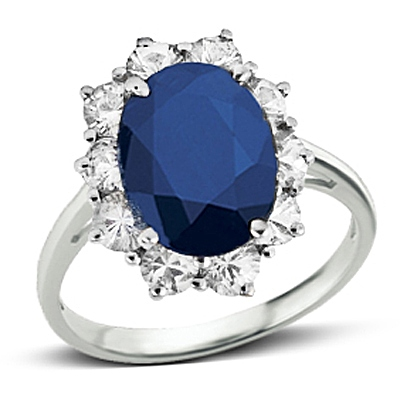 princess diana sapphire ring gemstone jewelry image