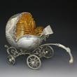 Sterling Silver Baby Stroller