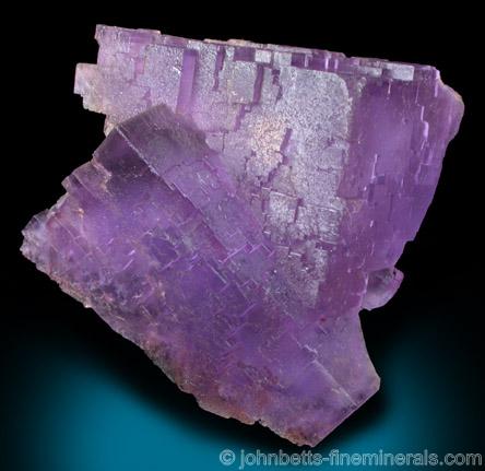 Purple Fluorite Twins