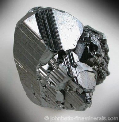 Lustrous Thick Hematite Crystal