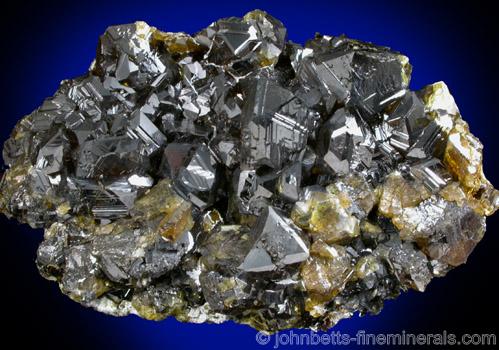 Dark Yellowish-Green Sphalerite