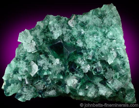 Bright Green Rogerly Fluorite