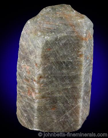 Hexagonal Corundum Crystal