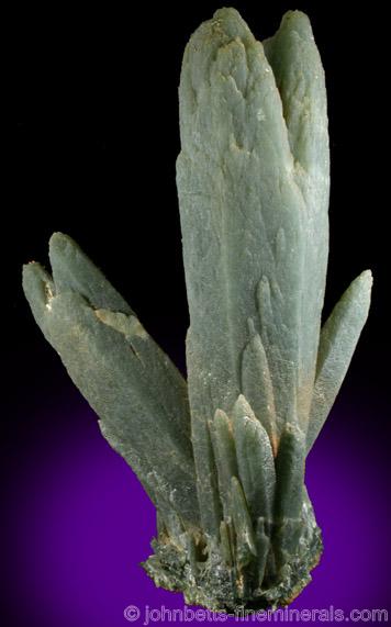 Quartz with Hedenbergite inclusions.