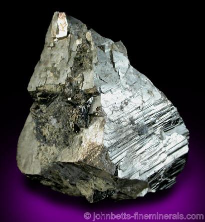 Complex Arsenopyrite Crystal