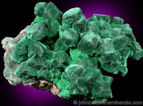 Malachite Pseudomorphs after Azurite