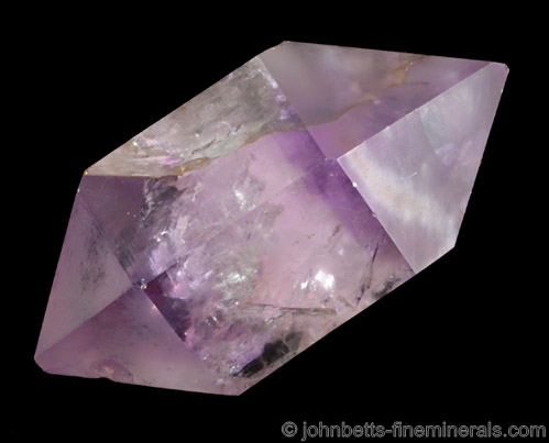 Doubly Terminated Amethyst Floater from Iredell County, North Carolina.