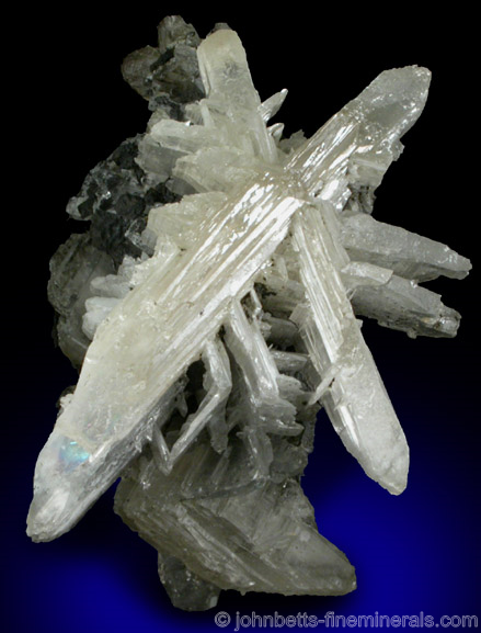 Cerussite Twinned Star Formation