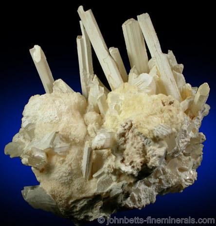 Prismatic Gypsum Crystals