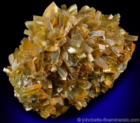 Golden Brown Barite