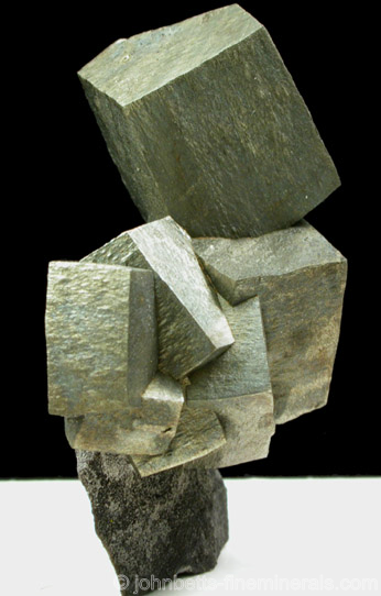 Cubic Pyrite Crystal Grouping
