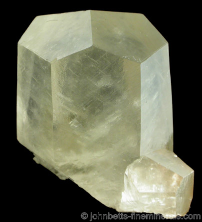 Yellow Complex Hexagonal Calcite