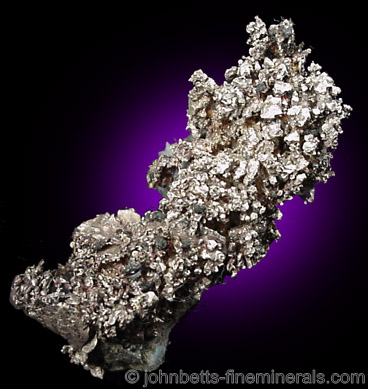 Silver Crystal Cluster