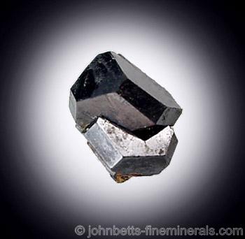 Lustrous Uraninite Crystal