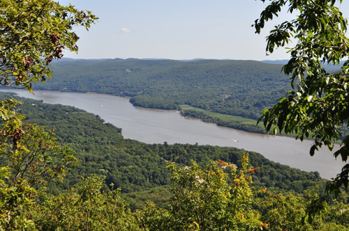 Hudson River at Bear Mountain