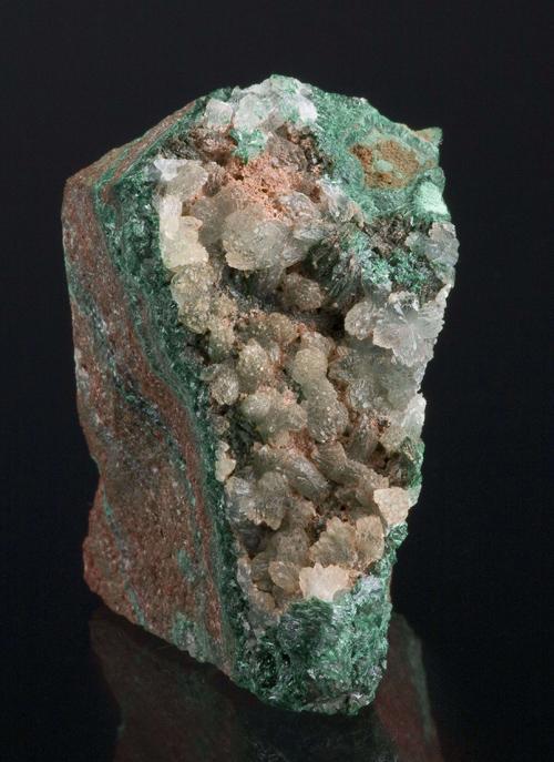 Iodargyrite With Malachite
