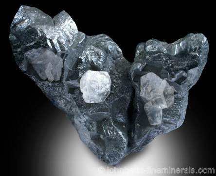 Classic Acanthite from Freiberg