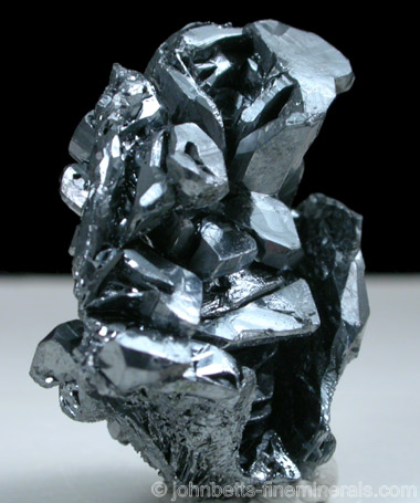 Parallel Acanthite Crystals