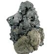 Large Acanthite Cluster on Matrix