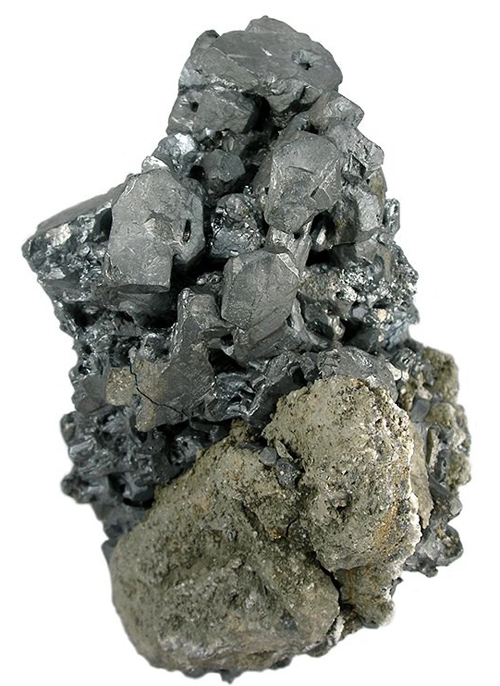 Large Acanthite Cluster on Matrix