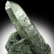Actinolite Needles with Quartz