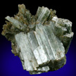 Parallel Actinolite Crystals