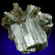 Parallel Actinolite Crystals