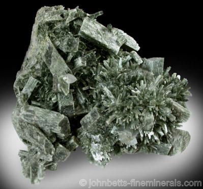 Actinolite Pseudomorph after Augite