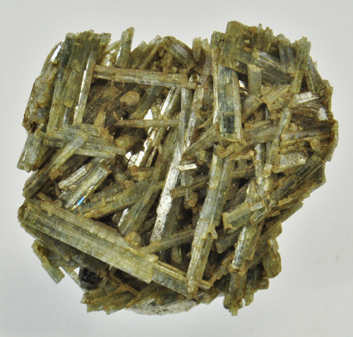 Interconnected Actinolite Crystals from Pierrepont, St. Lawrence Co., New York