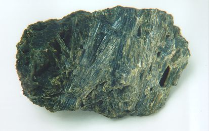 Dense Actinolite Crystal Mass from Wilberforce, Haliburton Co., Ontario
