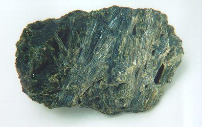 Dense Actinolite Crystal Mass from Wilberforce, Haliburton Co., Ontario