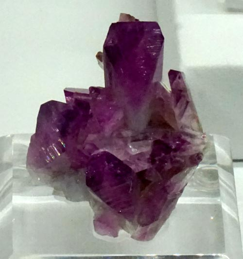 Sharp, Purple Adamite Crystals
