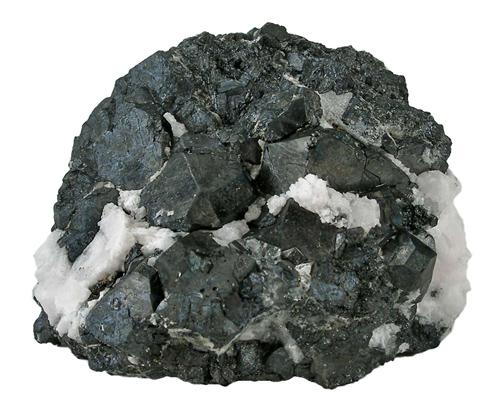 Alabandite in Calcite