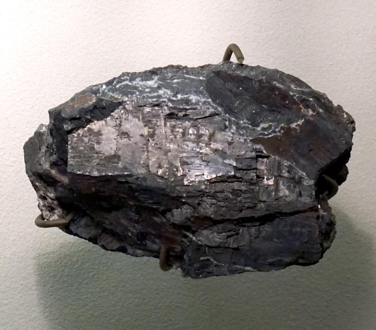 Alabandite Crystal Mass
