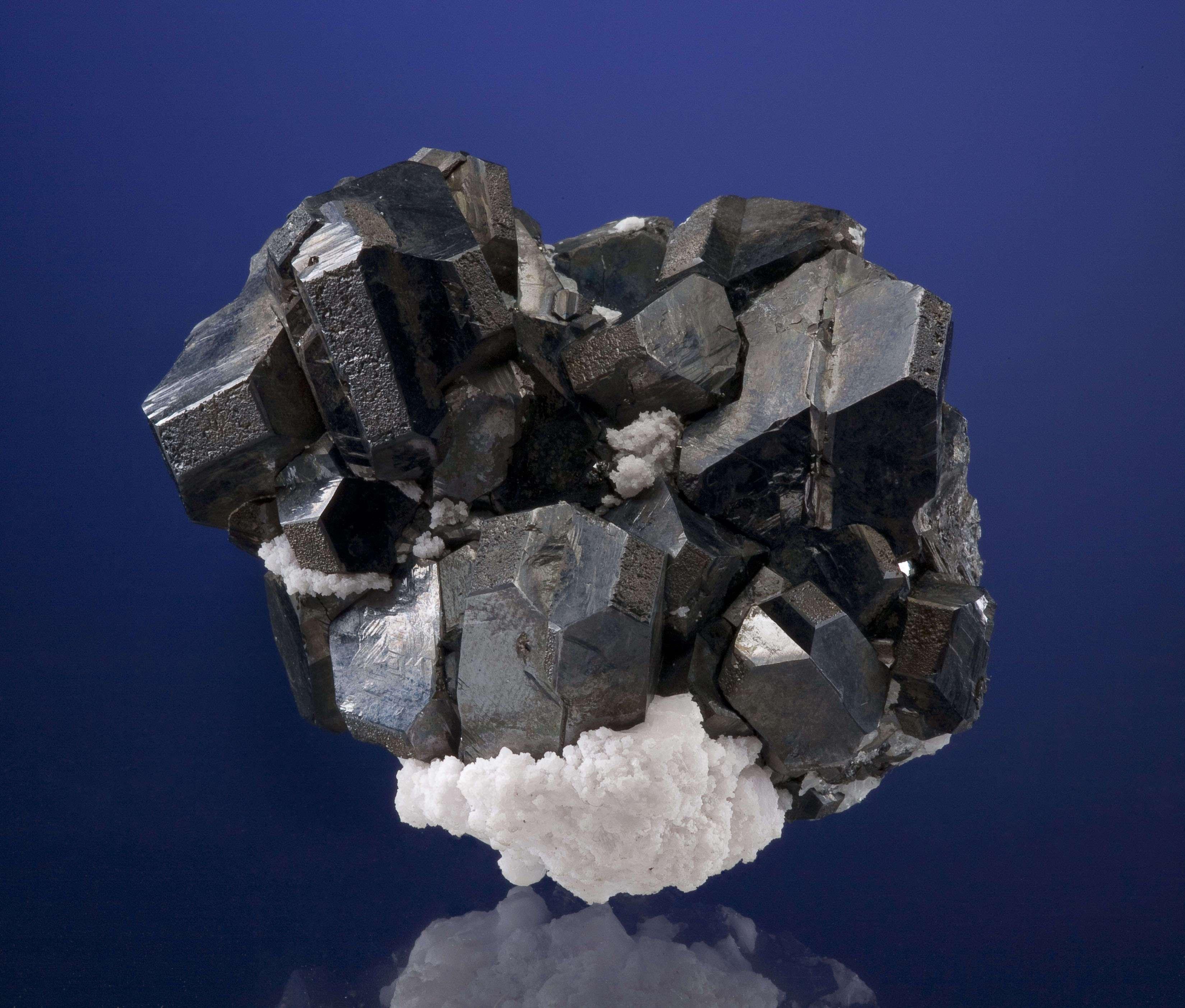 Alabandite Crystal Cluster