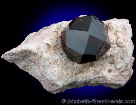 Lustrous Almandine Crystal