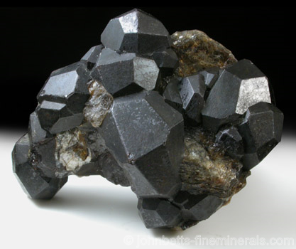 Dark Brown Almandine Crystals