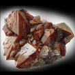 Red Amethyst with Hematite Inclusions