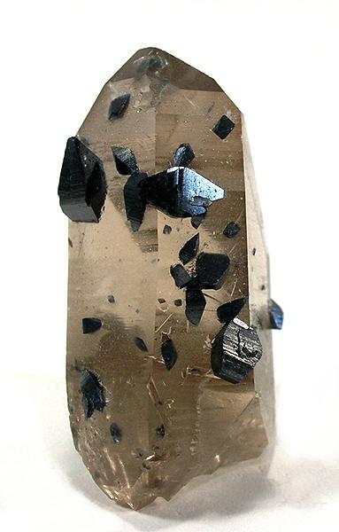 Anatase Crystals with Quartz