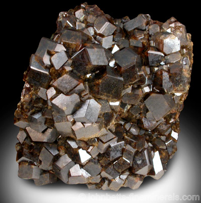 Yellow-green Andradite Crystals