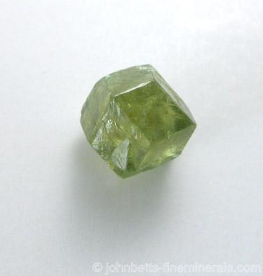 Single Demantoid Crystal