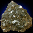 Bronze Andradite Crystal Plate