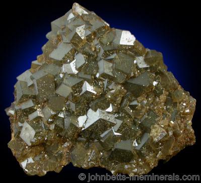 Bronze Andradite Crystal Plate