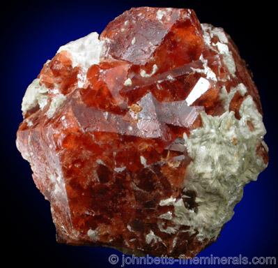 Deep Reddish-brown Andradite