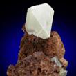White Anglesite Crystal