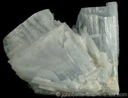 Wide Blue Anhydrite Crystals