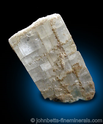 White Anhydrite from Simpleton Tunnel